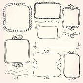 Rectangle Doodle Frames
