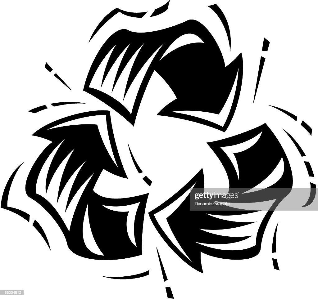 Recycling Symbol Save The Environment Please Recycle Vector Art