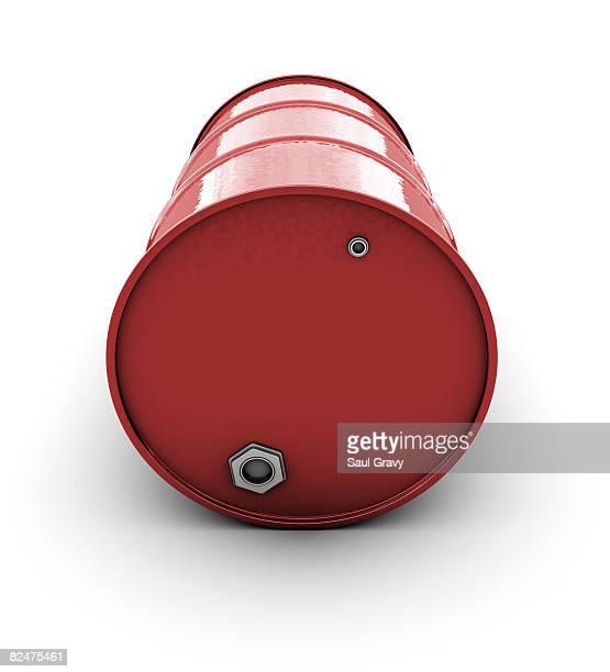red oil barrel - oil drum stock illustrations, clip art, cartoons, & icons