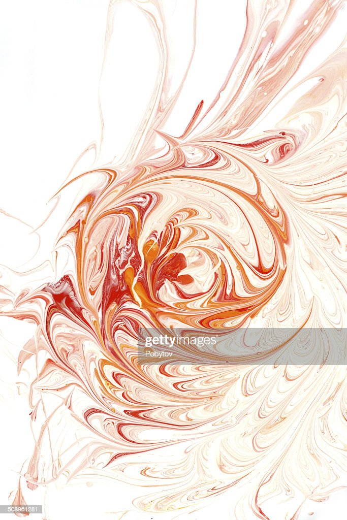 Red Swirl : stock illustration