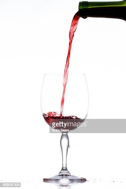 red wine - digital enhancement stock illustrations