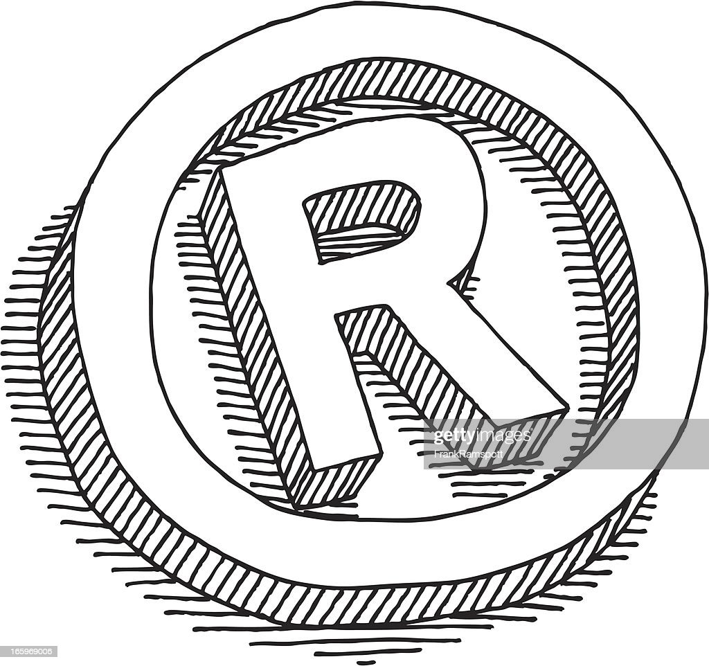 Registered symbol drawing vector art getty images registered symbol drawing vector art buycottarizona Gallery