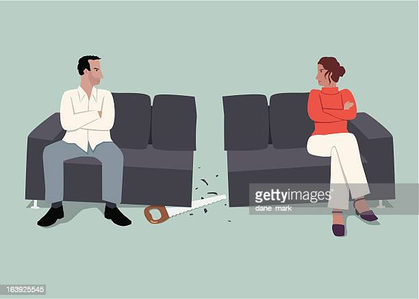 relationships - reconciliation stock illustrations