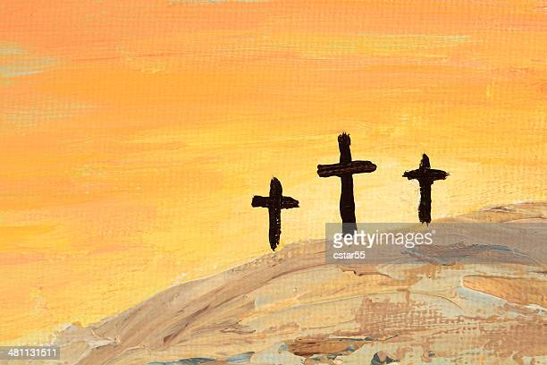 World S Best Three Crosses Stock Illustrations Getty Images