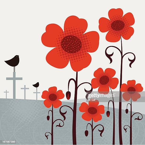 remembrance day - remembrance sunday stock illustrations