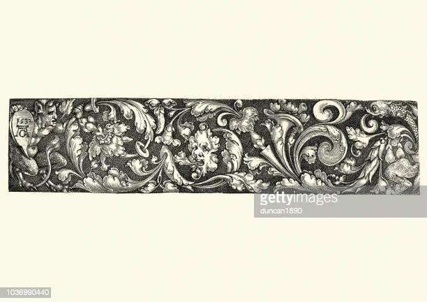 16 世紀、ルネサンス様式のデザイン要素 - 新古典派点のイラスト素材/クリップアート素材/マンガ素材/アイコン素材
