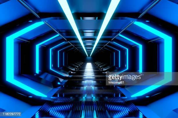 3d rendered illustration, visualisation of a science fiction spaceship - 宇宙の乗りもの点のイラスト素材/クリップアート素材/マンガ素材/アイコン素材