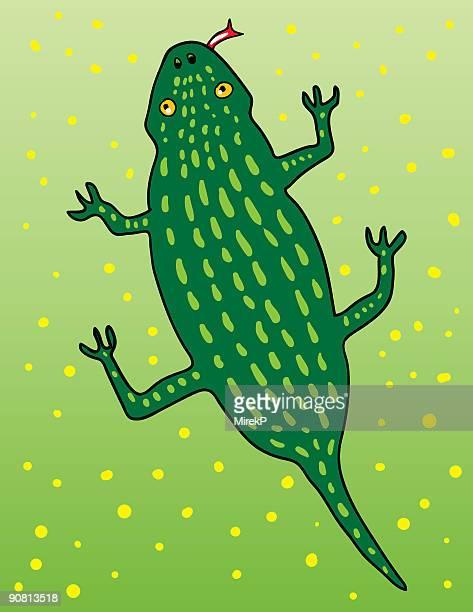 reptile - animal limb stock illustrations, clip art, cartoons, & icons