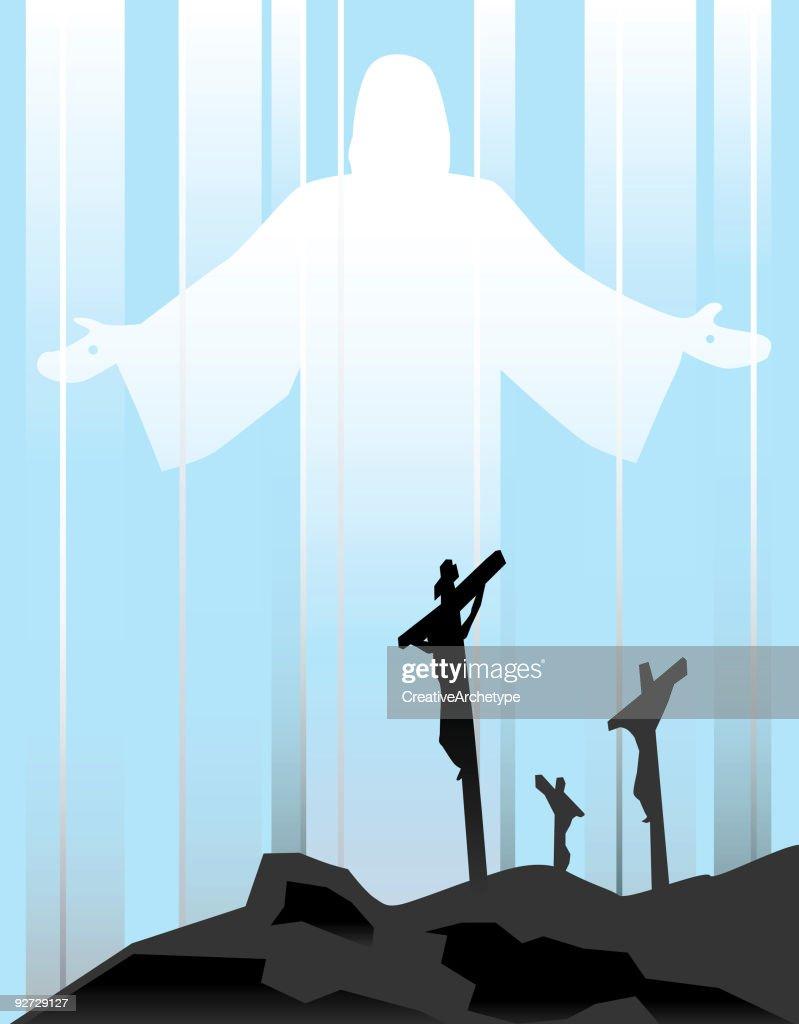 Resurrection : stock illustration