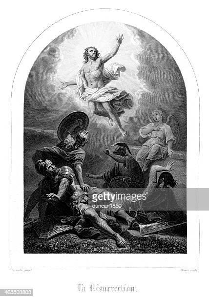 illustrations, cliparts, dessins animés et icônes de résurrection de jésus - ascension of jesus christ