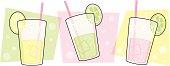 Retro Beverage Banner