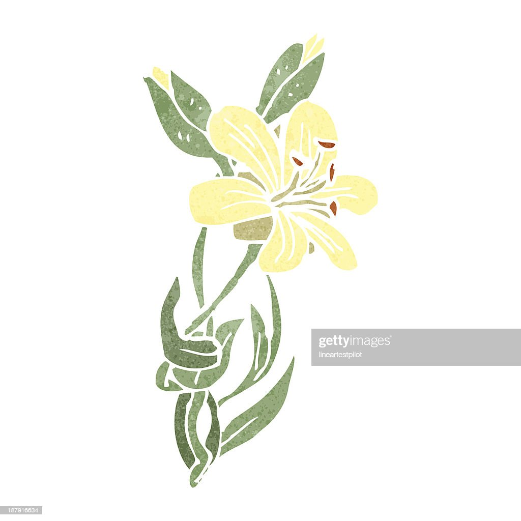 Retro cartoon flower stock illustration getty images retro cartoon flower stock illustration izmirmasajfo