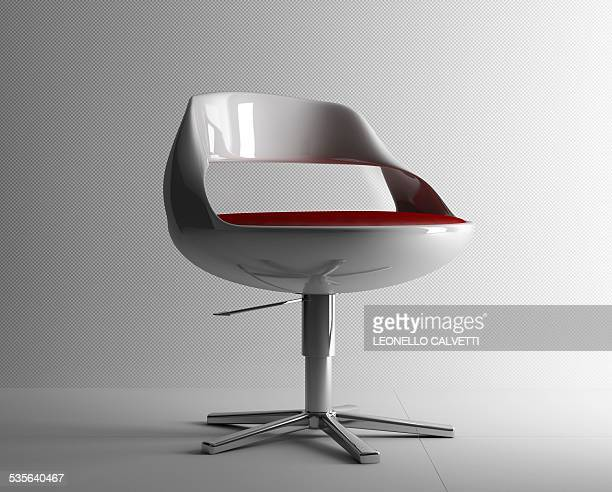 Retro chair, artwork