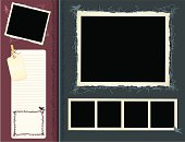 Retro Scrapbook Page