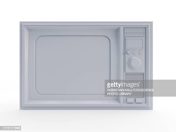 retro television, illustration - condition stock illustrations