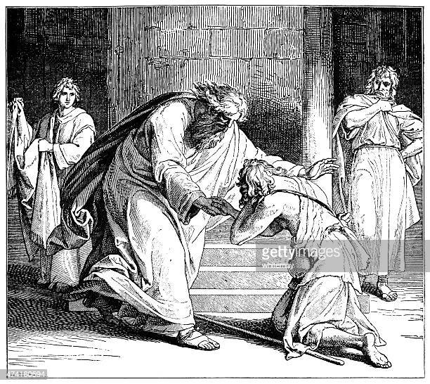 Return of the Prodigal Son (Victorian engraving)