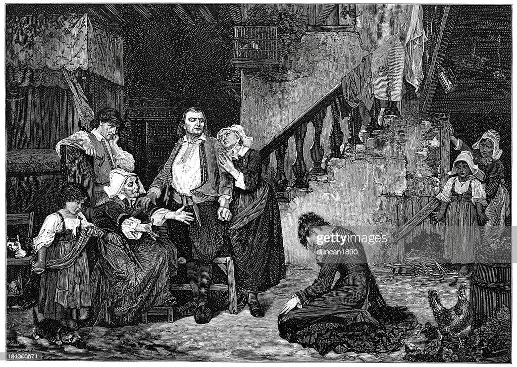 Return off the Penitent : stock illustration
