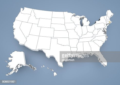 Rhode iceland ri highlighted on a contour map of usa united states rhode iceland ri highlighted on a contour map of usa united states of america 3d illustration stock illustration getty images gumiabroncs Gallery