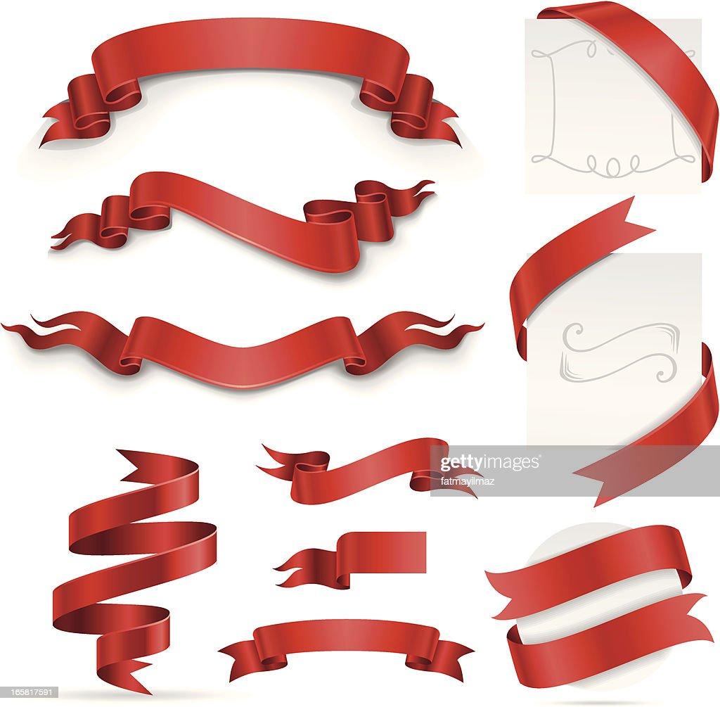 Ribbon Set (Red)