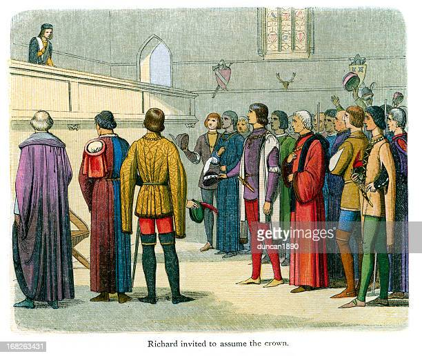 Richard II invited to assume the crown