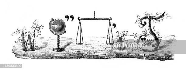 ilustrações, clipart, desenhos animados e ícones de enigma no retrato - 1887