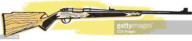rifle - rifle stock illustrations, clip art, cartoons, & icons