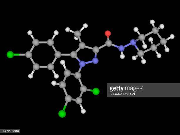 Rimonabant drug molecule