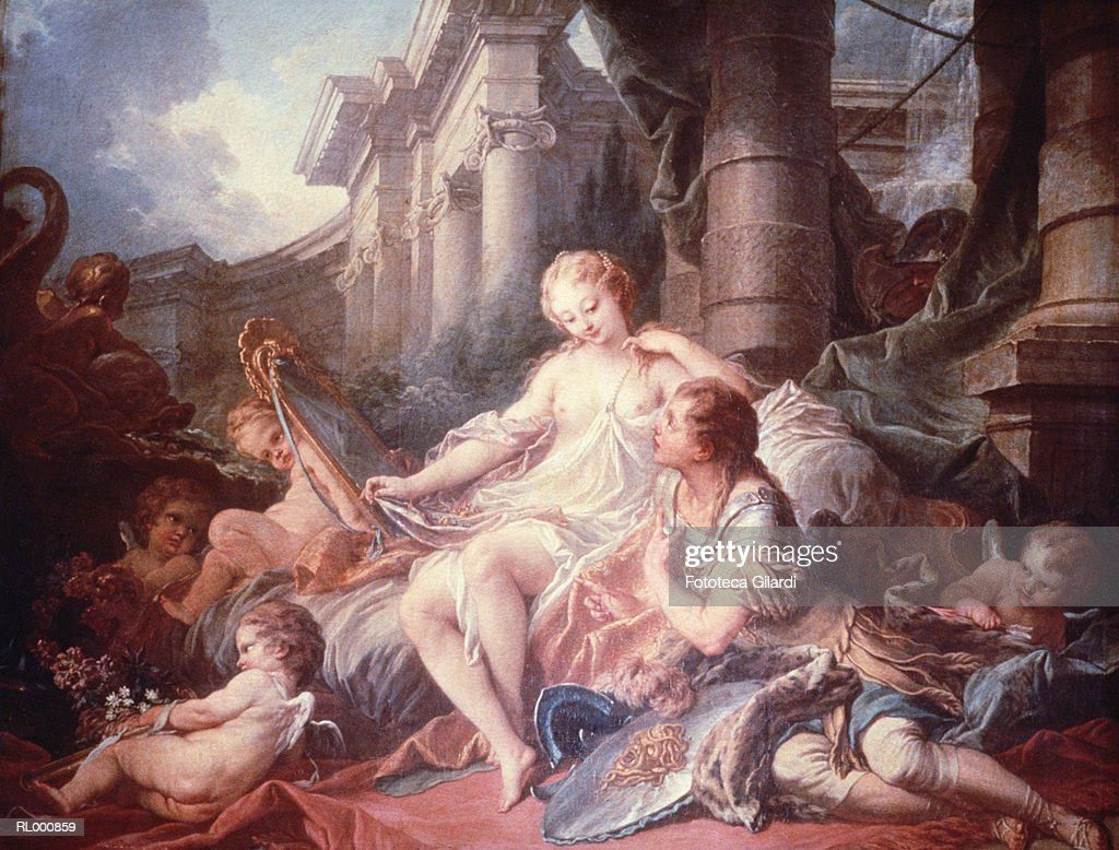 Rinaldo and Armida : stock illustration