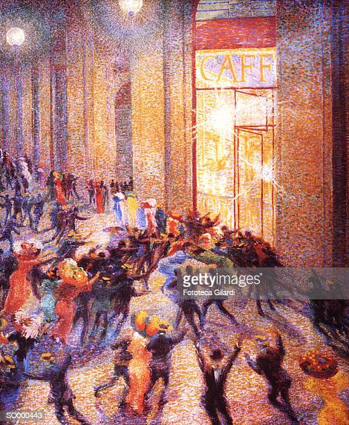 Riot in the Galleria (1910)
