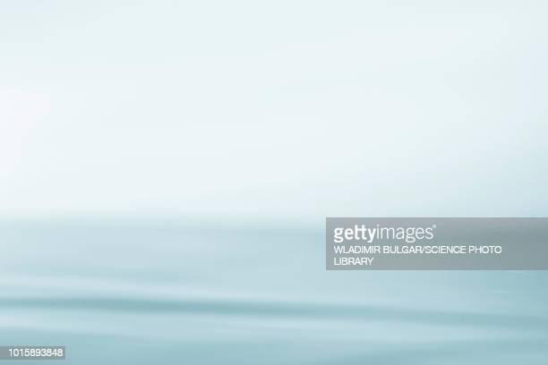 ripples on water - studio shot stock illustrations