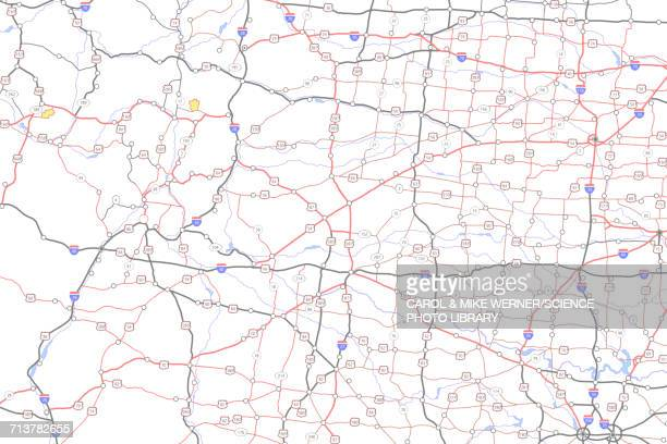 World\'s Best Road Map Stock Illustrations - Getty Images