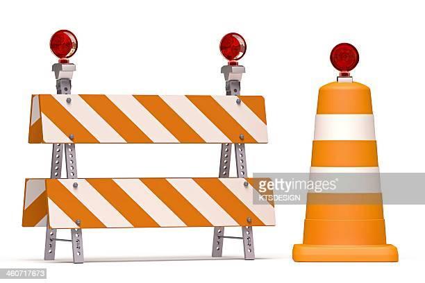 roadworks, conceptual artwork - road construction stock illustrations