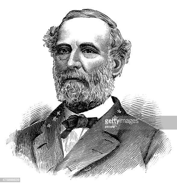 Robert E. Lee,Commander at confederate army of Northern Virginia.