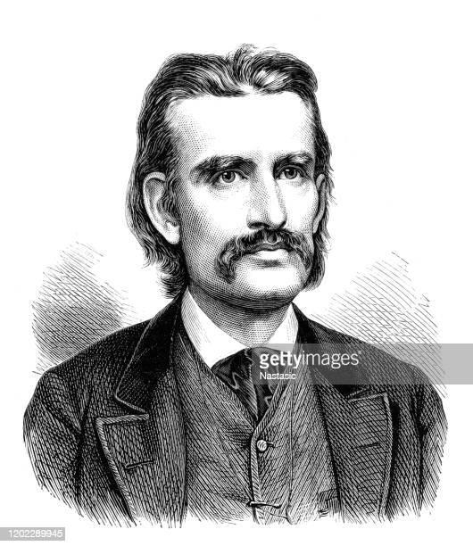 ロバート・ハマーリング、オーストリアの作家、詩人1830-1889 - 1890~1899年点のイラスト素材/クリップアート素材/マンガ素材/アイコン素材