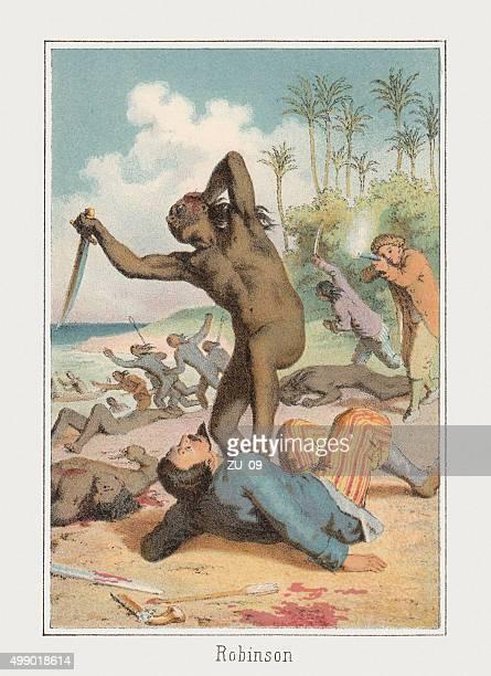 Robinson Crusoe, published c. 1875