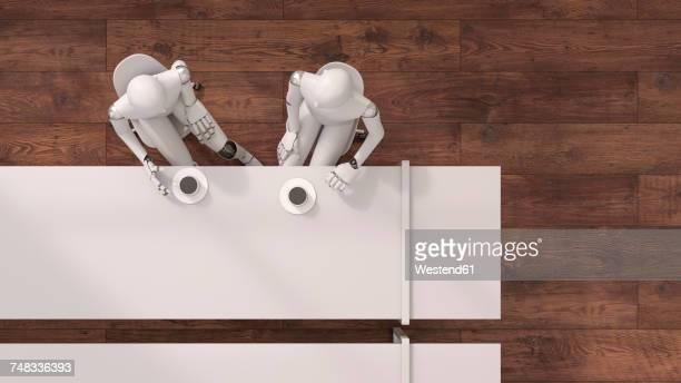Robot , 3d rendering