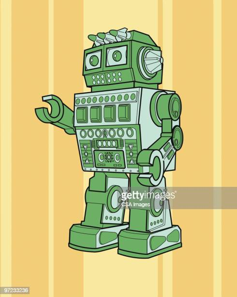 robot - robot stock illustrations