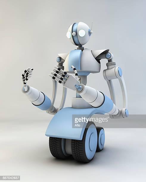 3D Robot rendering