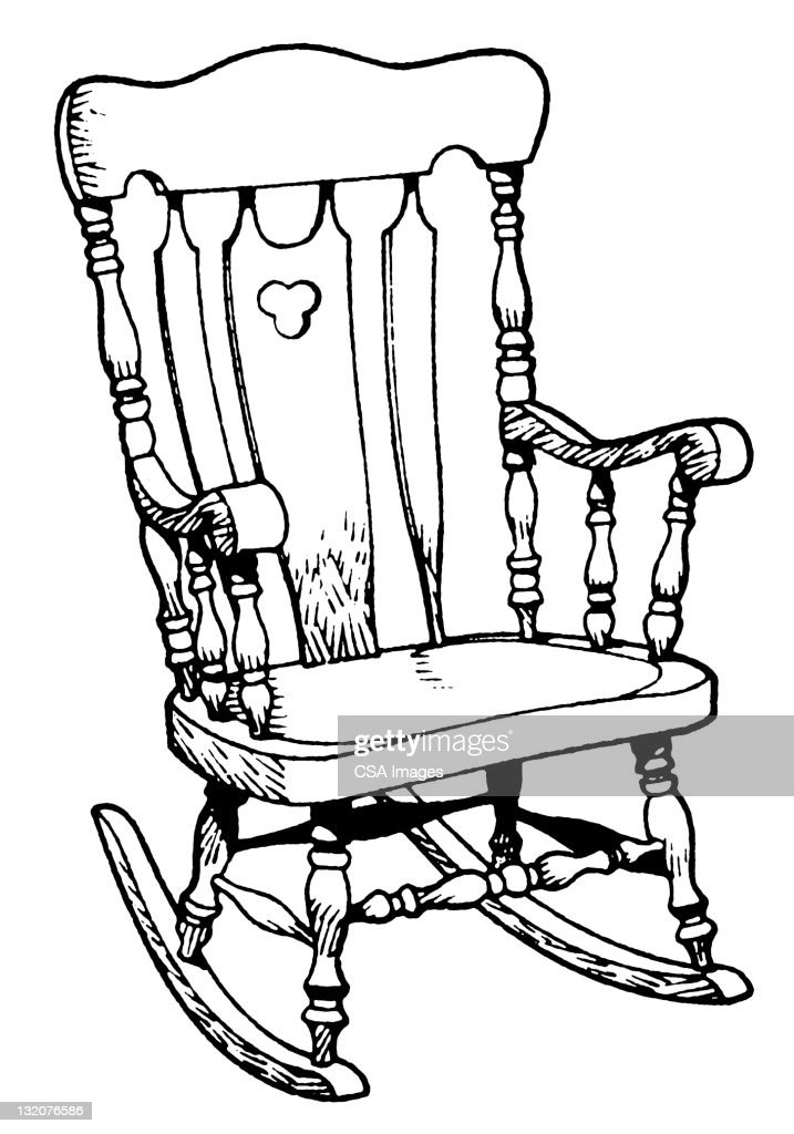 Rocking Chair Stock Illustrations And Cartoons