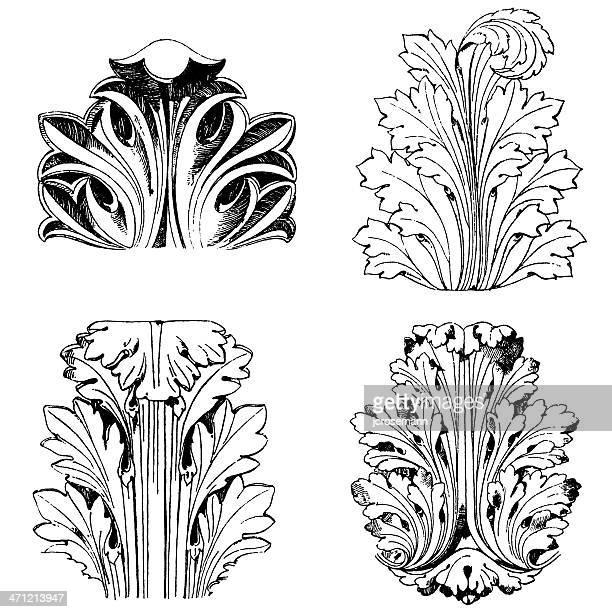 Roman Acanthus leafs