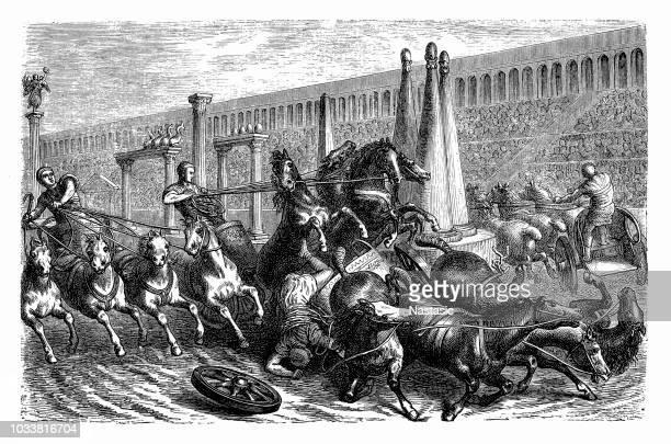 Roman Chariot races