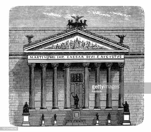 roman empire ,palace of justice - courthouse stock illustrations, clip art, cartoons, & icons