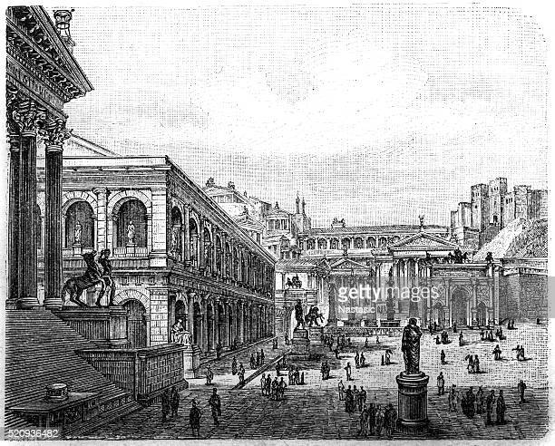 Roman Forum, visual reconstruction