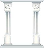 Roman Style Columns