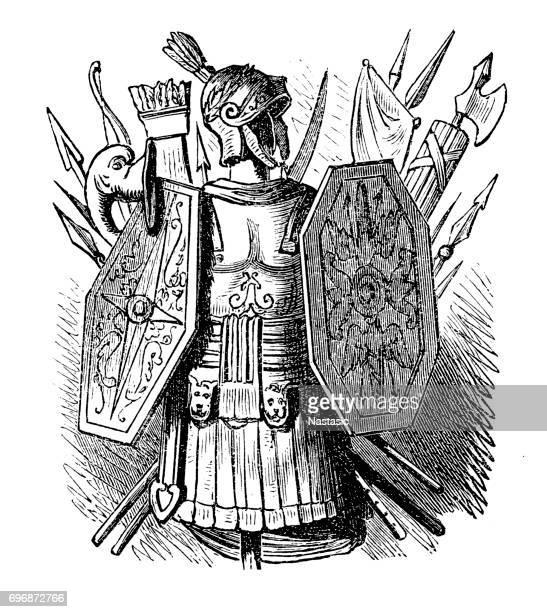 Roman warrior suit