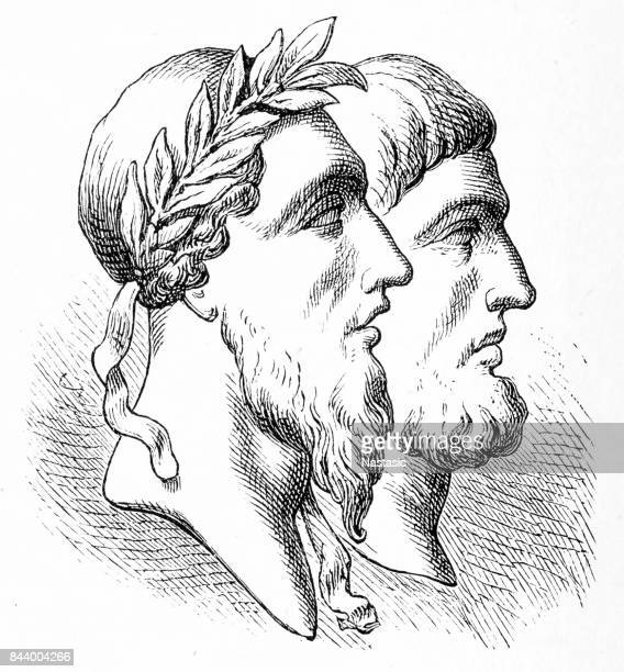 romulus, remus - 8th century bc stock illustrations, clip art, cartoons, & icons