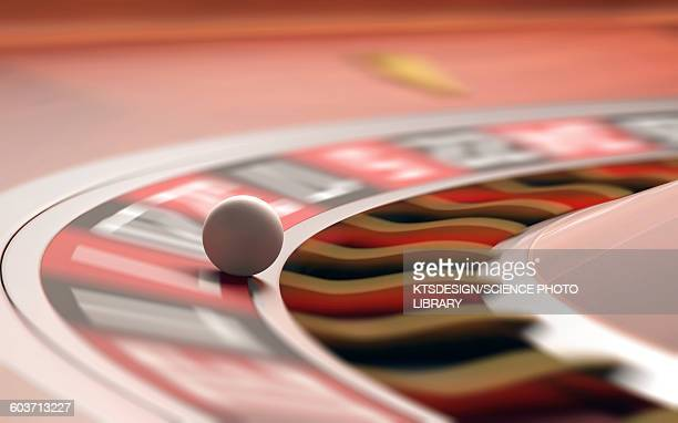 roulette wheel, illustration - fate stock illustrations