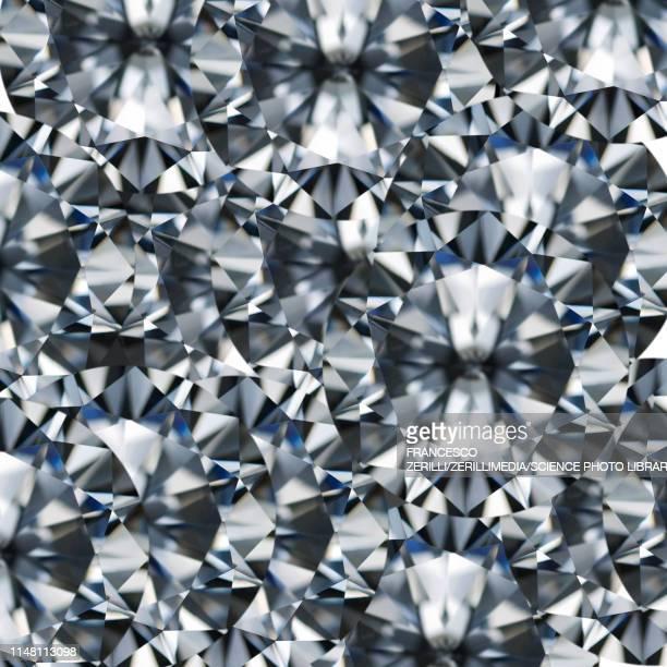 round cut diamond, illustration - shiny stock illustrations