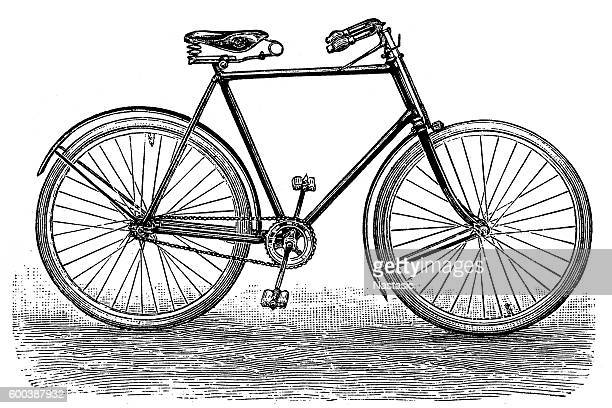 rover safety bike - obsolete stock illustrations