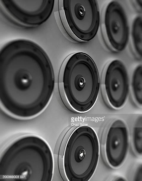 Rows of speakers (Digital)